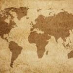 World map texture background — Stock Photo