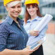 Two Female constructors — Photo