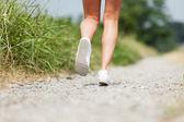 Closeup di scarpe da corsa — Foto Stock