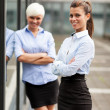 Two successful businesswoman  — Stock Photo