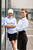 Two successful businesswoman — Stok fotoğraf