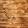Stock Photo: Chrstimas wooden background