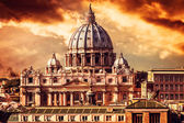 Vatican City by Sunset — Stock Photo