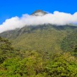 Ring of Clouds over Arenal — Stock Photo