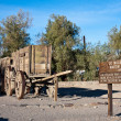 20 Mule Team Wagon Train in Death Valley — Stock Photo