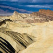 Badlands in Death Valley National Park — Stock Photo