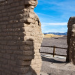 Borax Mine Site Ruins in Death Valley - Stock Photo
