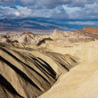 Death Valley Badlands on a Stormy Morning — Stock Photo #12918577