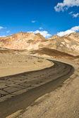 Artist Palette Drive in Death Valley — Stock Photo