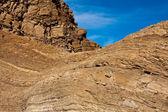 Gouden stenen in het mozaïek canyon — Stockfoto