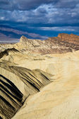Badlands i death valley national park — Stockfoto