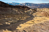 Death valley desert hills — Stock fotografie