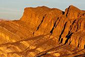 Death valley útesy — Stock fotografie