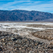 Rocky Salt Flats in Death Valley — Stock Photo