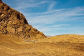 мозаика каньон скал в долине смерти — Стоковое фото