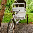 Stock Photo: Old Rickshaw