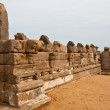Stock Photo: Old Temple Wall