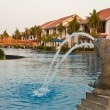 Fountain at a Tropical Resort — Stock Photo #13167853