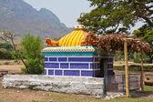 Kleiner Tempel in Tamil nadu — Stockfoto