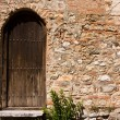 Old Church Backdoor — Stock Photo