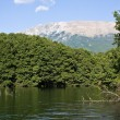 Calm Macedonian River — Stock Photo