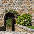 Stock Photo: Monastery Entrance