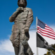 General Patton Statue and Flags — Stock Photo #13359722