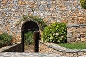 Entrata del monastero — Foto Stock
