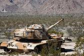 Camouflage Tank — Stock Photo