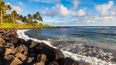 Poipu Beach Panorama — Stock Photo