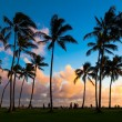 Stock Photo: Kauai Sunset