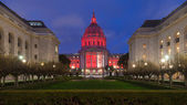 San Francisco City Hall at Night — Stok fotoğraf