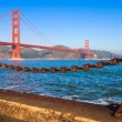 Stock Photo: Golden Gate Bridge in the Morning