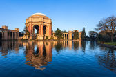 Palace of Fine Arts in San Francisco — Stok fotoğraf