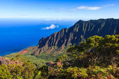 Kalalau Valley in the Morning — Stock Photo
