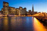 San Francisco at Night — Stock Photo