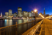 San Francisco from Pier Seven — Stock Photo