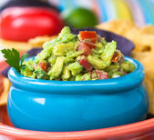 Guacamole Bowl — Stock Photo