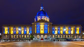 San Franicisco City Hall in Blue and Gold — Stok fotoğraf