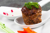 Meatball with Sides — Stock Photo