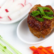 Meatball Appetizer — Stock Photo