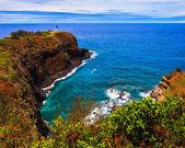 Kilauea Lighthouse Bay — Stock Photo