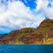 Dramatic Na Pali Coastline — Stock Photo