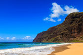 Beautiful Polihale Beach — Stock Photo