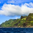Stock Photo: Green Kauai Coastline