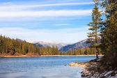 Lake Hume Winter Landscape — Stock Photo