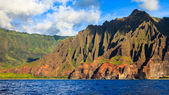 Beautiful Napali Coast Mountains — Stock Photo