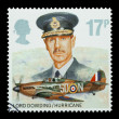 Stock Photo: Lord Dowding and RAF Hurricane
