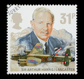 Sir Arthur Harris and RAF Lancaster — Foto Stock