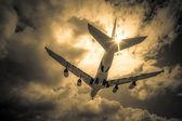 Passenger jet — Stockfoto